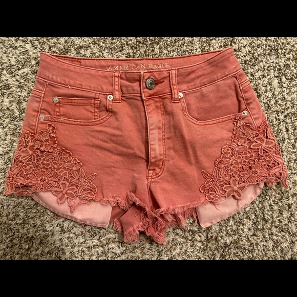American Eagle Outfitters Pants - American Eagle High-waisted Denim Short